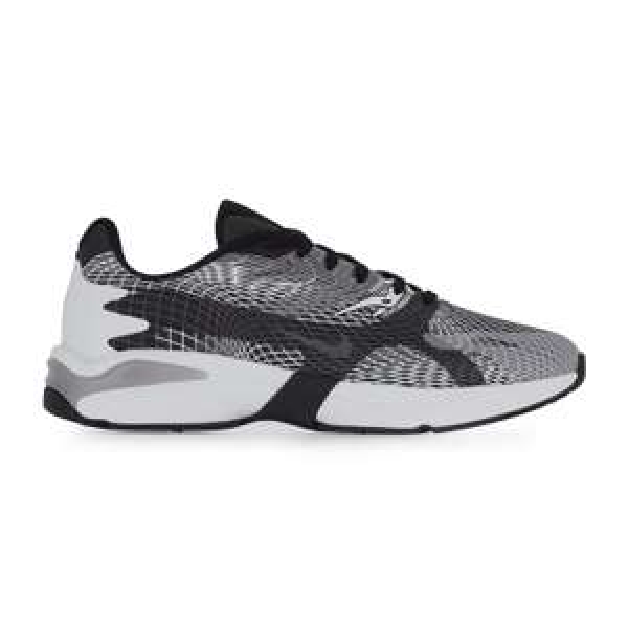 Baskets Homme Nike Ghoswift (Taille au choix) - Noir et blanc