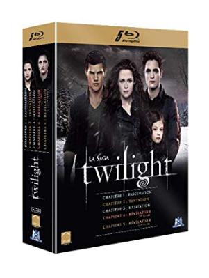 Coffret Blu-Ray Twilight - La Saga Intégrale (5 disques)