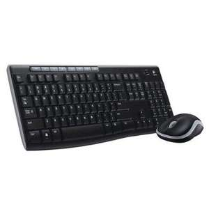 Ensemble clavier Logitech Wireless Combo MK270 sans fil