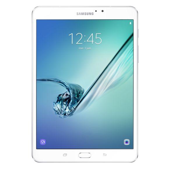 """Tablette 8"""" Samsung Galaxy Tab S2 SM-T713 - Wi-Fi, 3 Go de RAM, 32 Go, Blanc"""