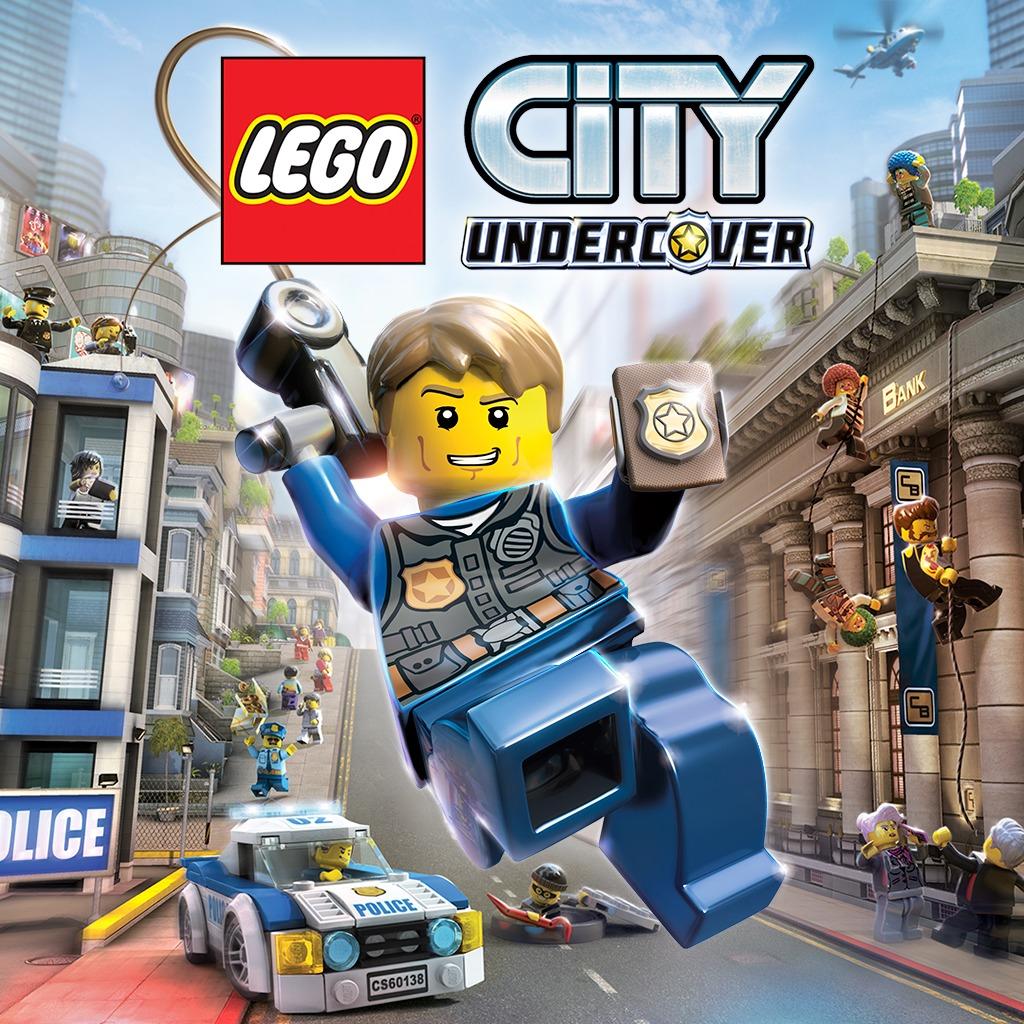 Lego City Undercover sur Switch (dématérialisé, store US/CA)
