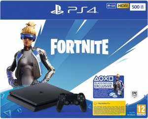 Console Sony PlayStation PS4 Slim (500 Go) + bundle Fortnite Neo Versa (frontaliers Allemagne)