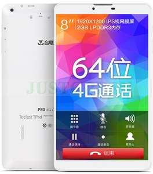 "Tablette 8"" Teclast P80 4G - MTK8752 - Octo-core - 4G"