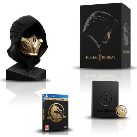 Mortal Kombat 11 Edition Kollector sur PS4 (Via 150€ sur la carte fidélité)