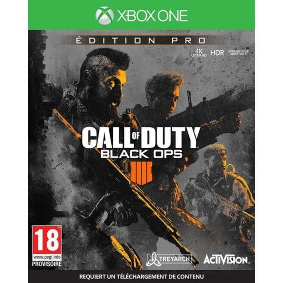 Jeu Call of Duty : Black OPS 4 - Édition Pro sur Xbox One