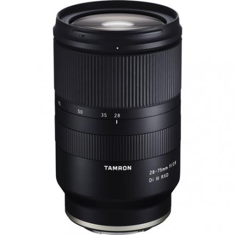 Objectif Zoom Tamron 28-75/2.8 DI III RXD - Monture Sony FE compatible plein format et APS-C (lecirque.fr)