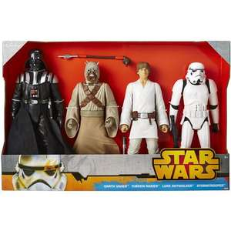 Lot de 4 figurines 50cm Star Wars Classic Disney (via 34.95€ carte Waaoh)