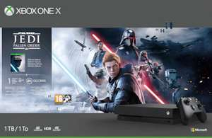 Console Microsoft Xbox one X + Fallen Order (Frontalier Suisse)