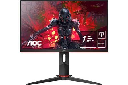 "Écran PC 24"" AOC 24G2U5 - Full HD, IPS, 75 Hz, 1 ms, FreeSync, Display Port (109.99€ avec le code FETES2019)"