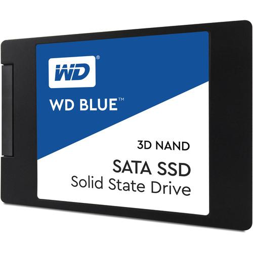 """SSD interne 2.5"""" Western Digital WD Blue (TLC 3D) - 500 Go"""