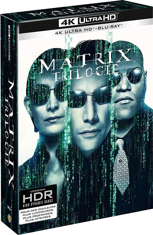 Coffret Blu-ray 4K Matrix La Trilogie - Edition limitée