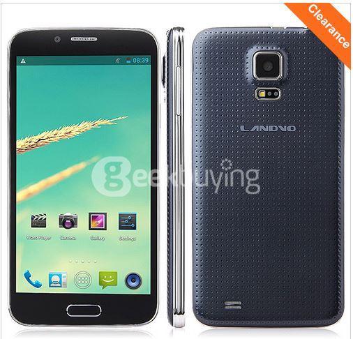 """Smartphone 5"""" Landvo L900 3G - Quad core - 1 Go Ram"""
