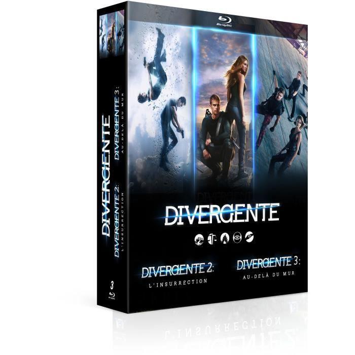 Coffret Blu-ray Divergente - L'intégrale