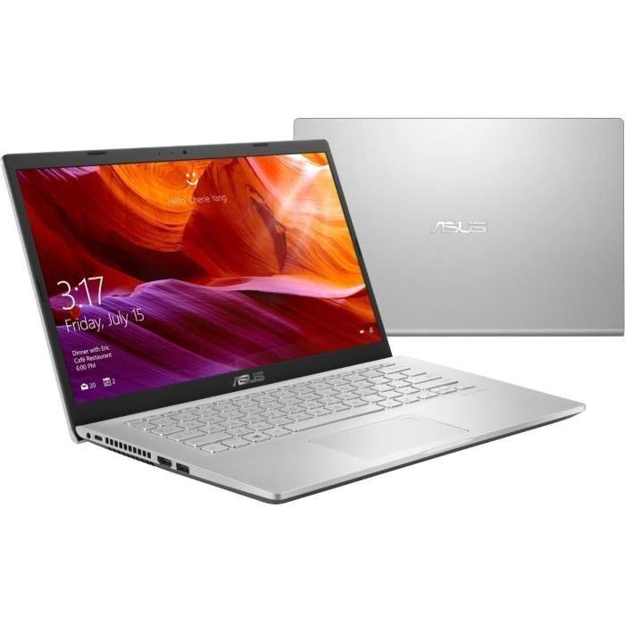 """PC portable Asus X409UA-EK080T -14"""" FHD - Pentium 4417U -RAM 8Go -Stockage 256Go"""