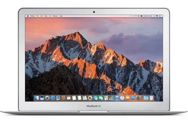 "PC portable 13.3"" Apple MacBook Air - i5-5350U, 8 Go de RAM, 128 Go en SSD (749,99 avec le code BFSTART12)"
