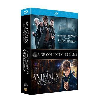 Coffret Blu-ray 2 films - Les Animaux fantastiques 1 et Les Animaux fantastiques 2 : Les Crimes de Grindelwald