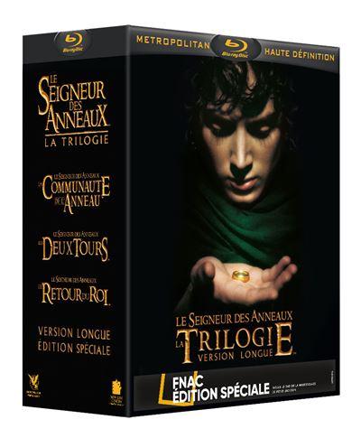 Sélection de Blu-Ray, 4K et Editions spéciales à -50% - Ex : Coffret Le Seigneur des anneaux La Trilogie version longue Edition Spéciale