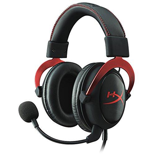 Casque audio Kingston HyperX Cloud II - avec microphone, rouge