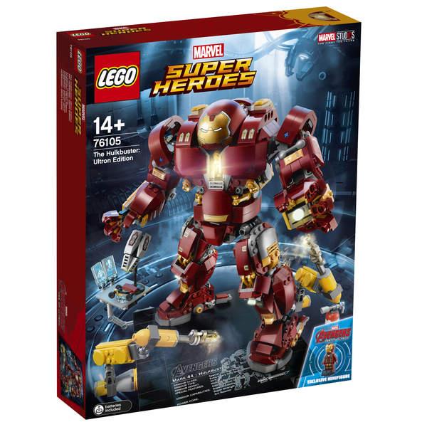 Jouet Lego Marvel Super Heroes Le Super Hulkbuster - 76105