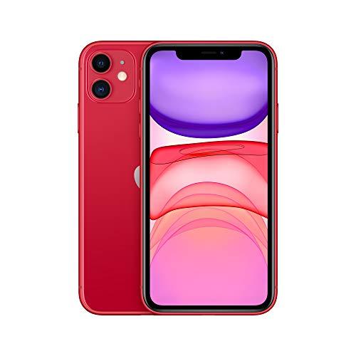 "Smartphone 6.1"" Apple iPhone 11 - HD Retina, A13, 4 Go de RAM, 64 Go, rouge"