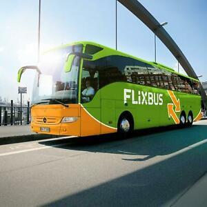 Billet de Bus Flixbus pour voyage en Europe