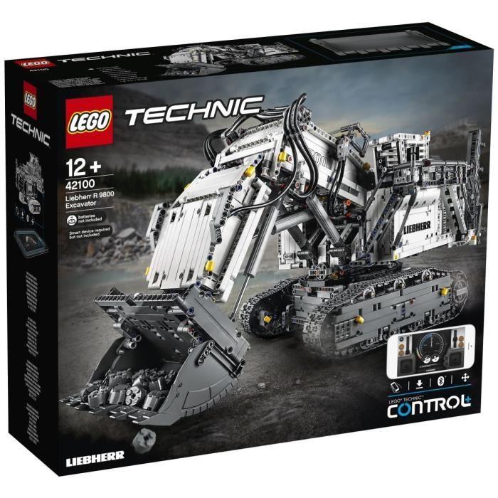 Lego Technic La pelleteuse Liebherr R 9800 (42100)