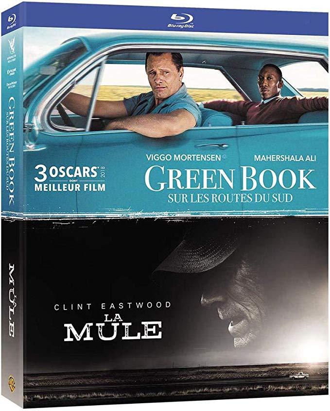 Coffret Blu-ray : Green book + La mule