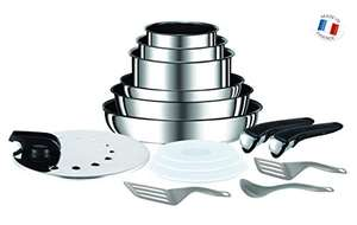 Set de poêles et casseroles Tefal L9409602 (15 pièces) - Tous feux dont induction