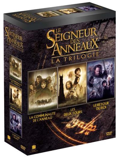 Coffret DVD - Le Seigneur des Anneaux, 3 films