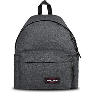 Jusqu'à -47% sur les sacs et valises Eastpak - Ex : Eastpak Padded Pak'R Sac à dos, 40 cm, 24 L, Gris (Black Denim)