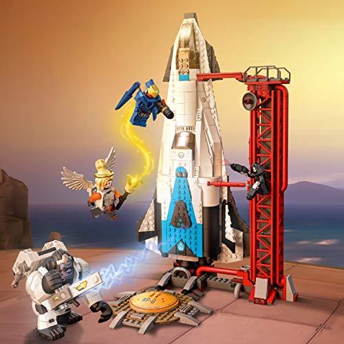Jeu de construction Lego Overwatch Observatoire : Gibraltar