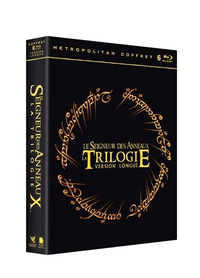 Coffret Blu-ray : Le Seigneur des Anneaux Version longue