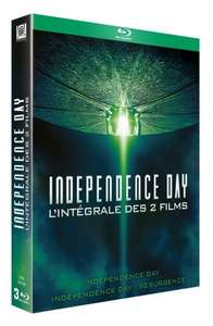 Coffret Blu-Ray Independance Day 1 et 2