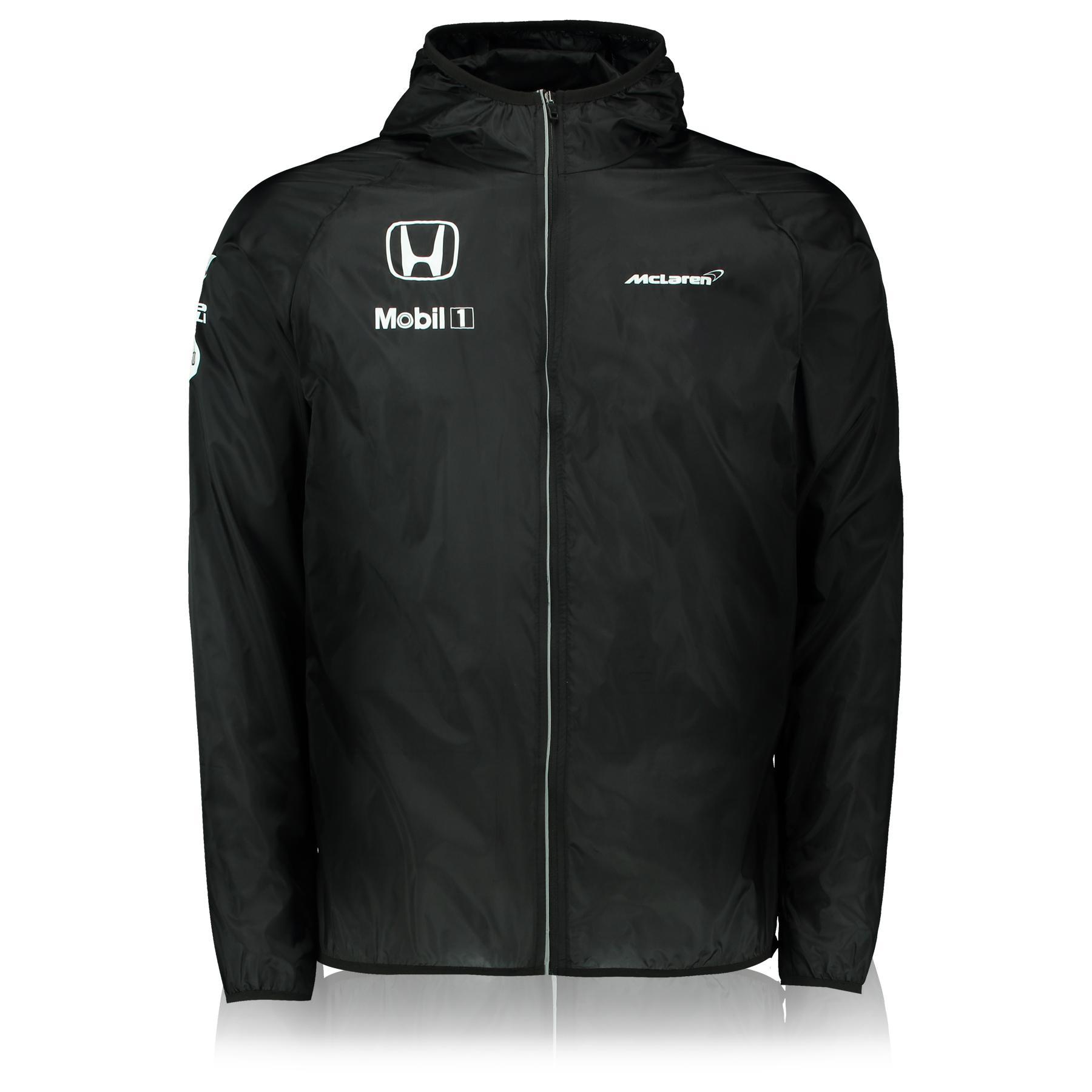 Veste imperméable McLaren Honda Team (Tailles S, M, XL et XXL)