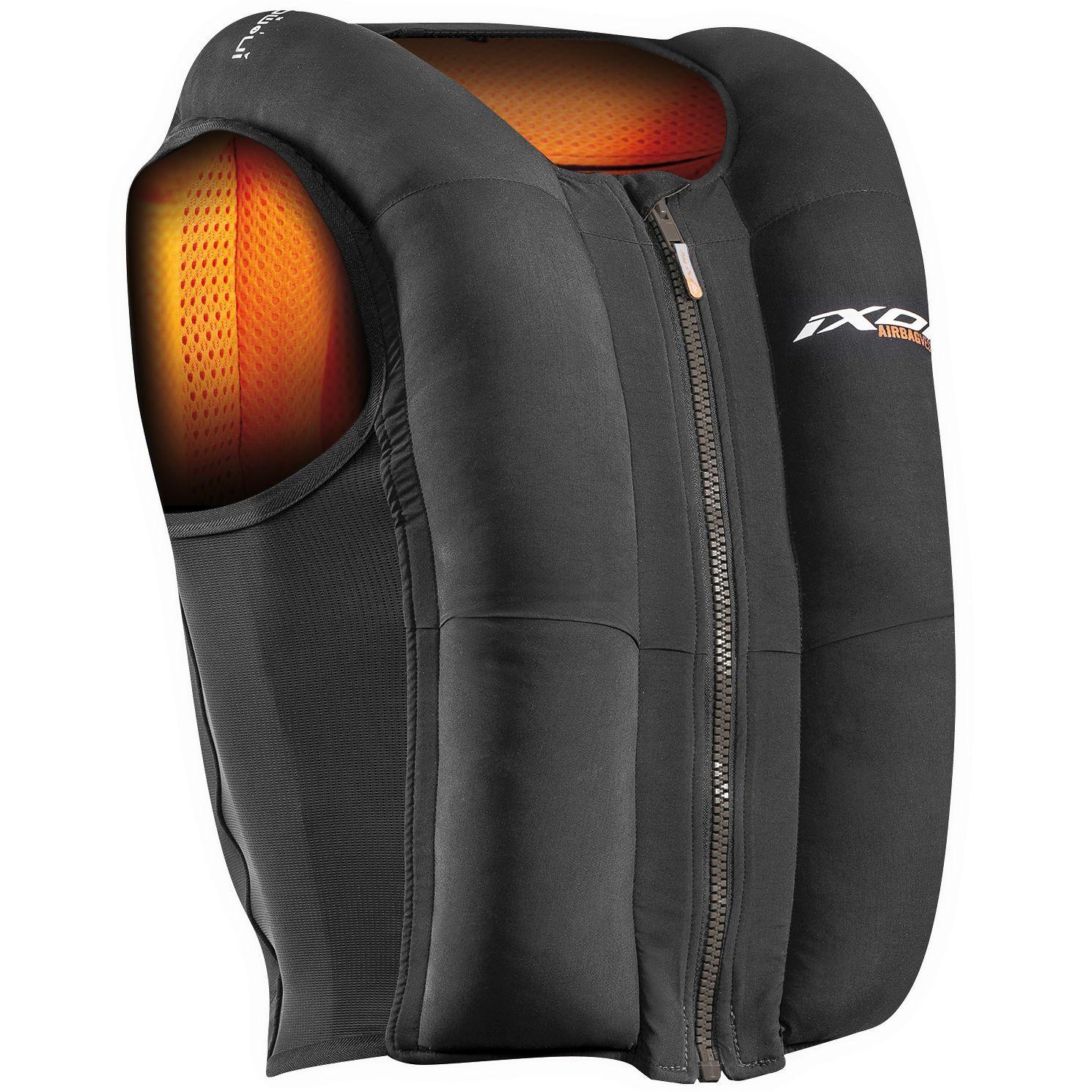 Gilet Airbag pour moto Ixon IX-Airbag U03 (moto-axxe.fr)
