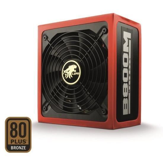 Alimentation PC Lepa 800W MaxBron - 80PLUS Bronze - Semi-modulaire