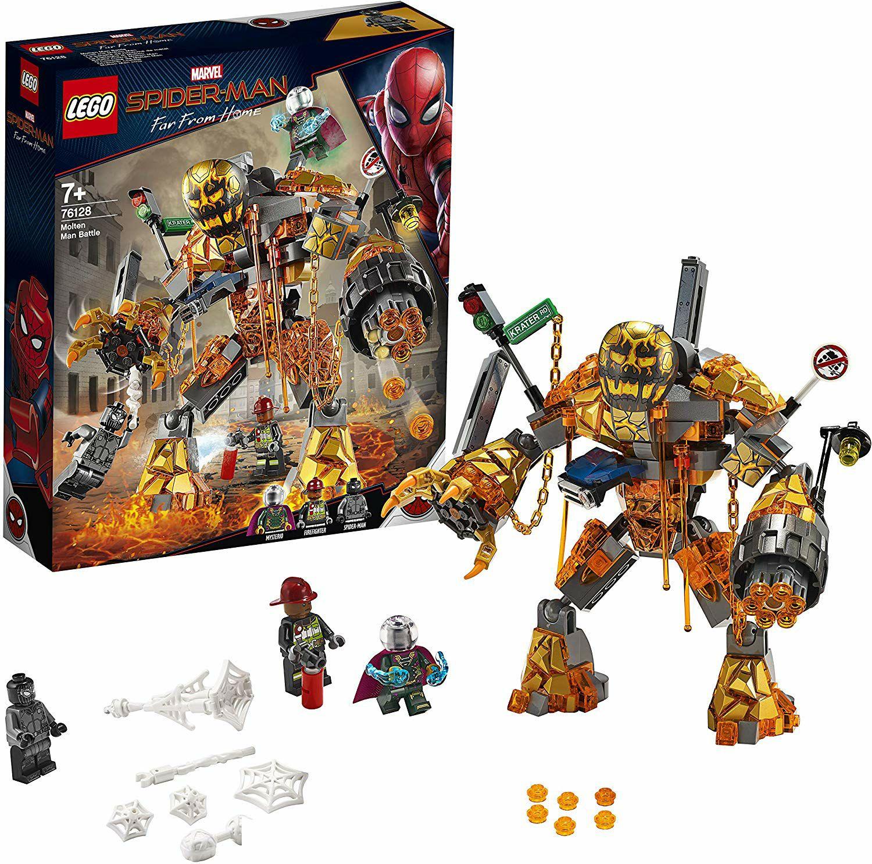 Jeu de construction Lego Marvel 76128 - Spider-Man et la bataille de l'Homme de métal