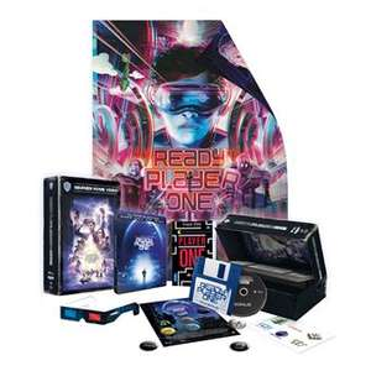 Coffret Blu-ray 4K UHD Ready Player One - Steelbook + Goodies