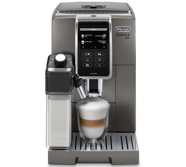 Machine à café Delonghi Dinamica Plus Titanium FEB 3795.T