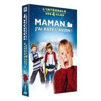 Coffret 4 DVD Maman j'ai raté l'avion