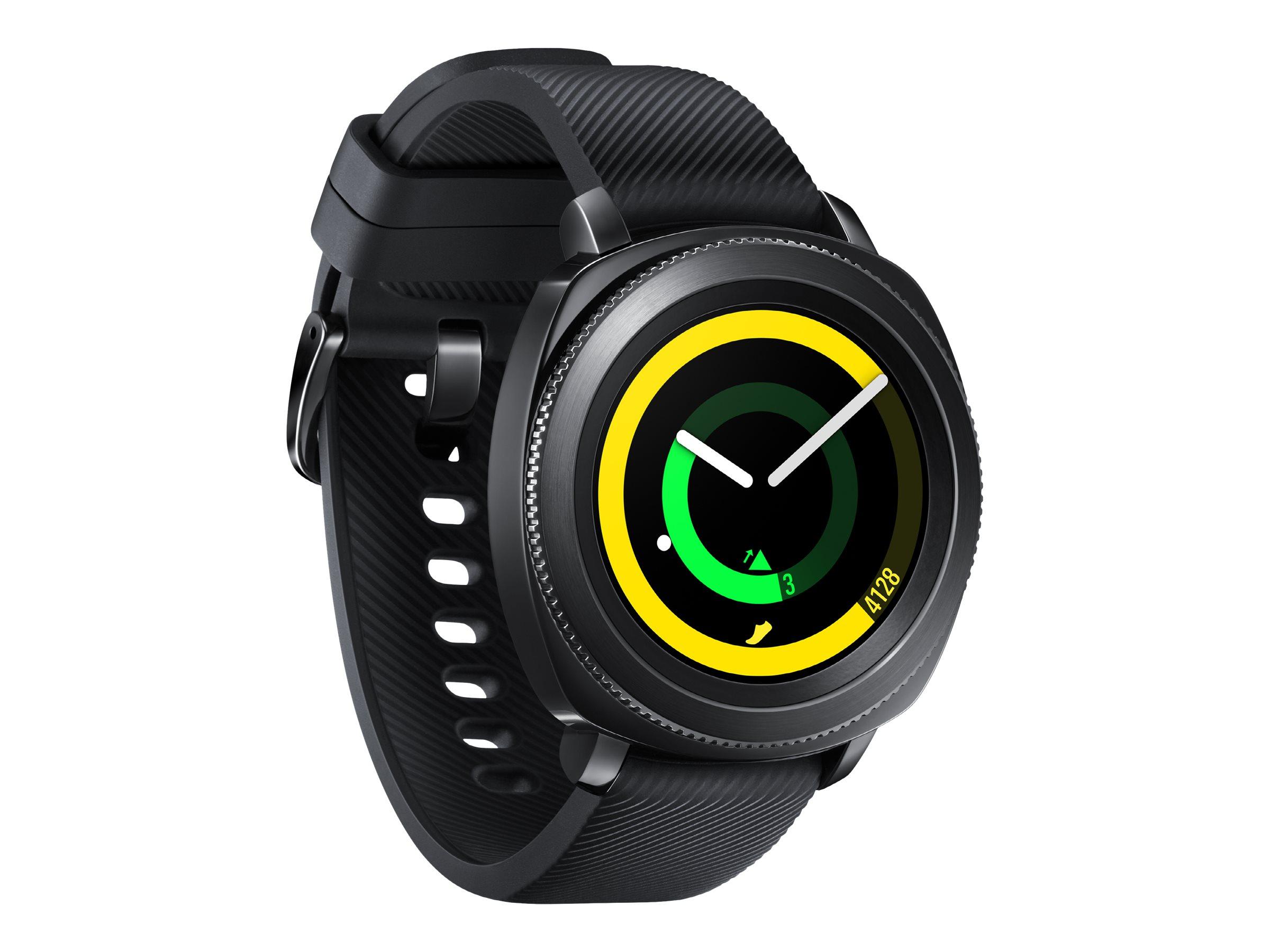 Montre GPS Samsung Gear Sport (Via 188.30€ sur la carte + 25€ en carte cadeau)
