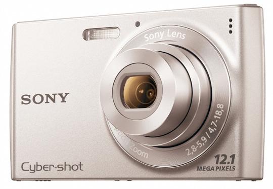 Appareil photo Cyber-shot 12Mpx Sony DSCW510 - Reconditionné
