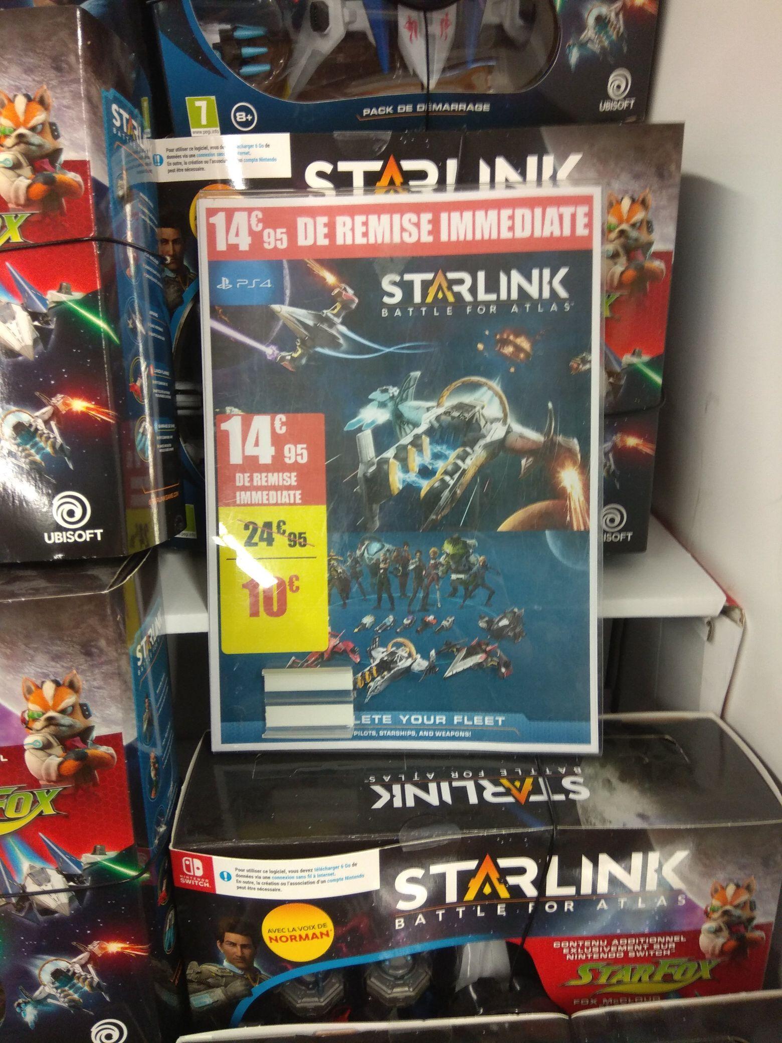 Pack de démarrage Starlink Battle for Atlas pour PS4 ou Nintendo Switch - Noisy le Grand (93)