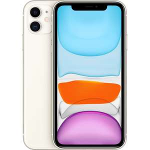 "Smartphone 6.1"" Apple iPhone 11 - HD Retina, A13, 4 Go de RAM, 64 Go (Vendeur tiers)"