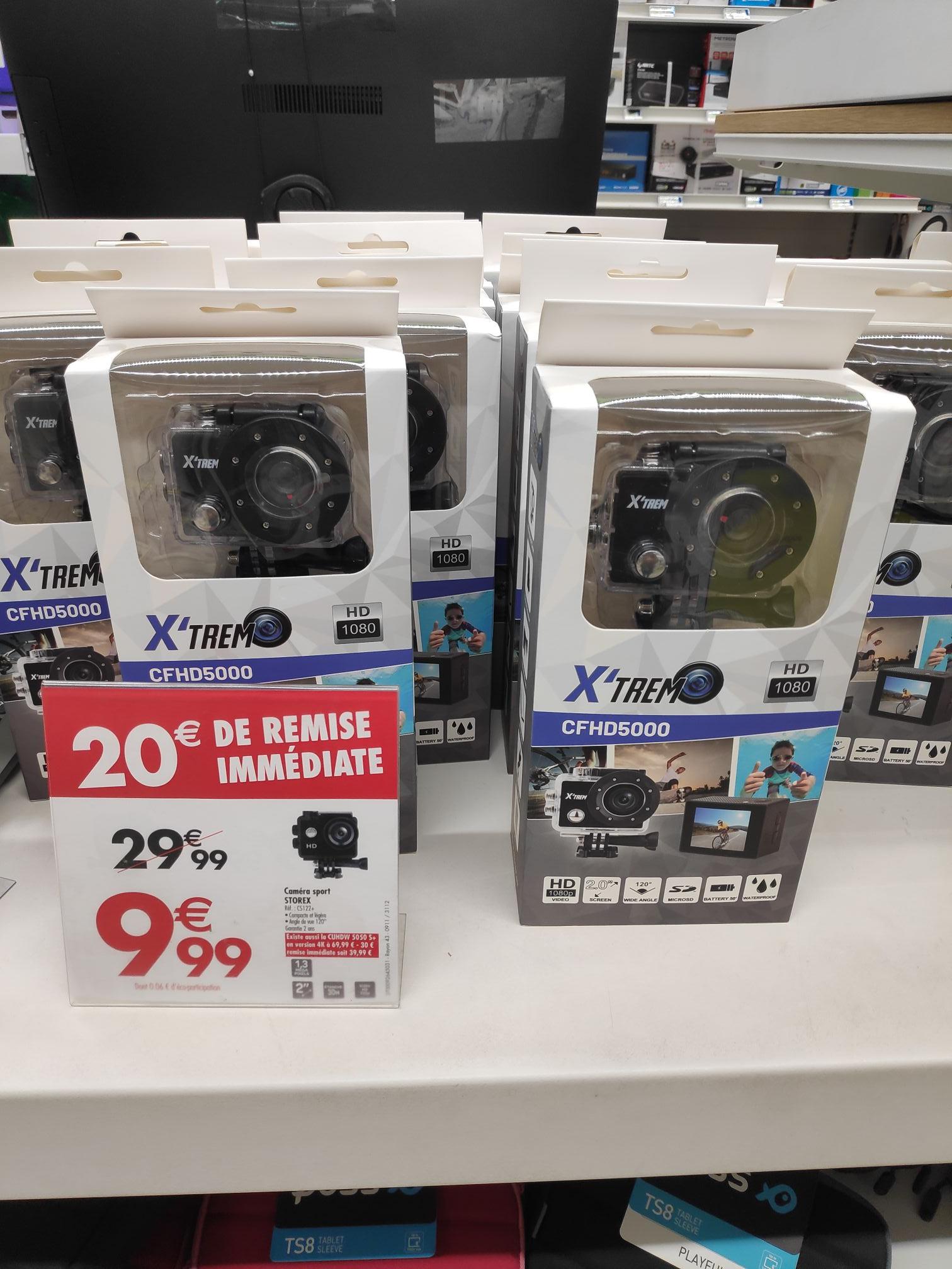Caméra sport HD X'Trem CFHD5000