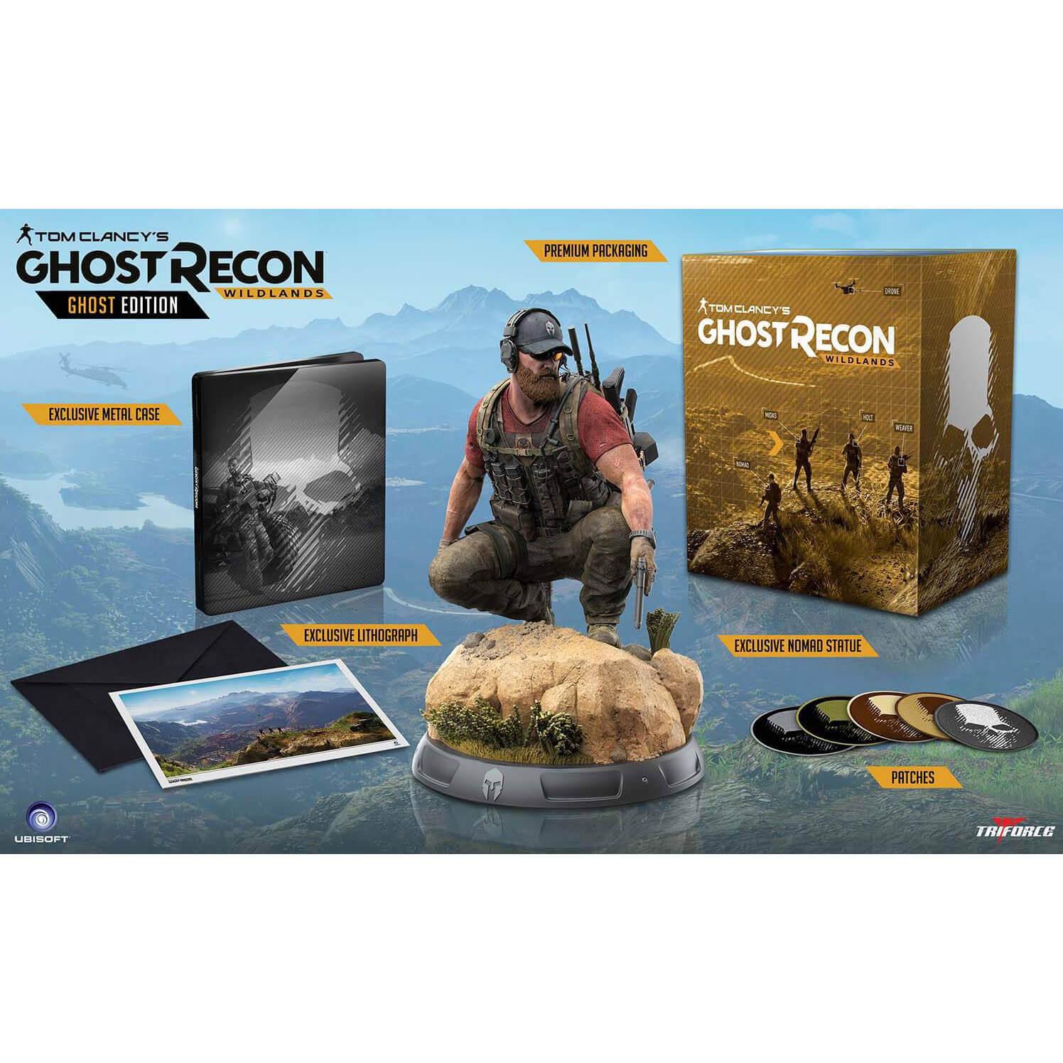 Coffret Collector Ghost Recon Wildlands (Jeu non Inclus)