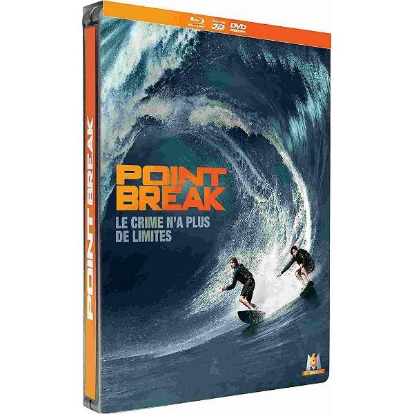 Blu-ray 3D Point Break + Steelbook