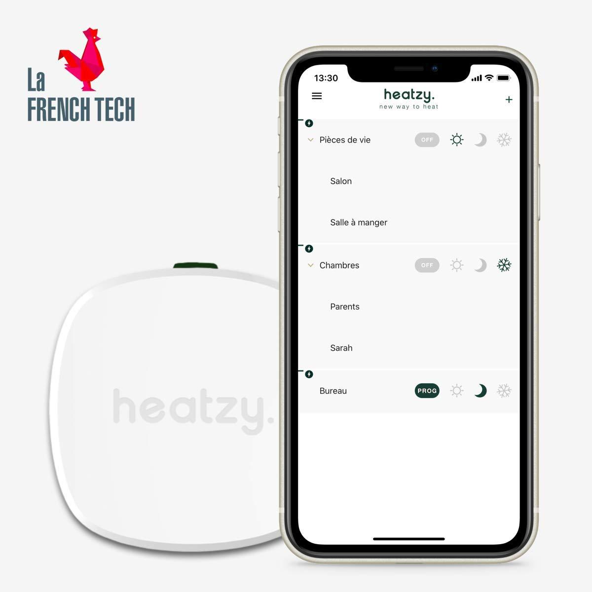 Programmateur connecté et intelligent Heatzy