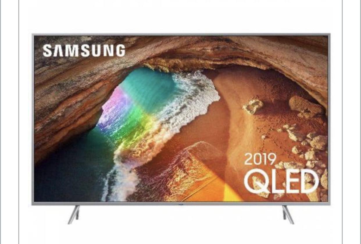 """TV 55"""" Samsung QE55Q64R - QLED, 4K UHD, HDR 10+, 100 Hz, 3100 PQI, Smart TV (via ODR de 100€)"""