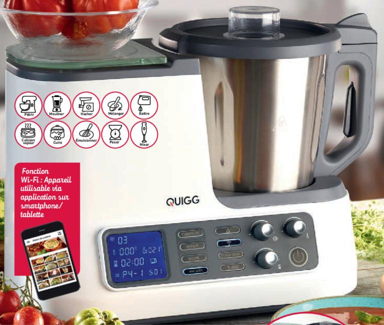 Robot cuisine cuiseur Quigg